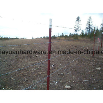 Green Painted T Post с лопатой для сада / виноградника США Тип