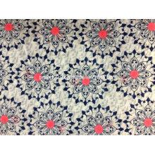 100% Baumwoll-Doppel-Slubby-Stoff mit bedruckt für Kleidungsstücke