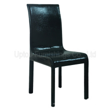 Hospitality Furniture Black Crocodile Leather Dining Chair (SP-LC240)
