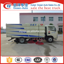 Fábrica de China Dongfeng 4 CBM Limpieza Sweeper Camión