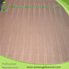 Linyi Factory 3A ou 2A Grade 1.8mm 2.3mm 2.7mm 3.6mm Belle couleur et grille Porte Sapele Contreplaqué ou Sapele Fancy Plywood avec un prix moins cher