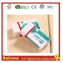 PVC Eco-Friendly Clear Eraser for School