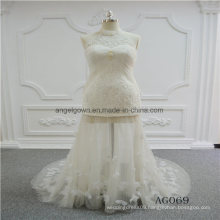 New Design Halter Mermaid Wedding Dress