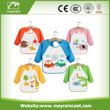 PVC Printing Kids Smock With Sleeves