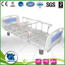 BDE214 3 functions electric adjustable medical beds with diner table