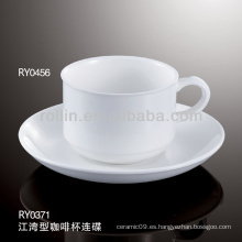 Taza de porcelana, taza de té de cerámica, taza de café de cerámica, tazas de café de China