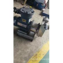 Bomba autocebante centrífuga monobloque de acero inoxidable CYZ