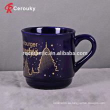 Taza azul marino de la bebida de la venta al por mayor 300ml