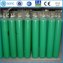 Cylindre industriel sans couture de l'hydrogène 50L (EN ISO9809)