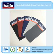 Verschiedene Farbe Duroplast Pulver Wasser Textur Pulverbeschichtung