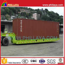 Solid Tyre 40 Feet 80ton Mafi Roll Roll Semi Trailer