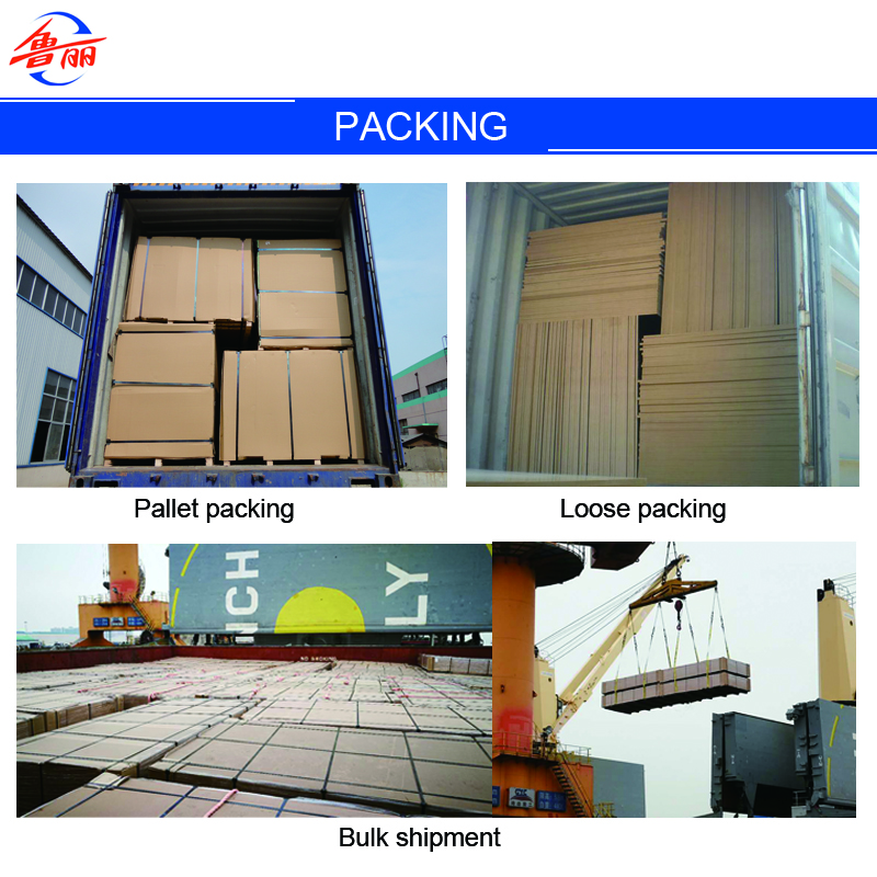 MDF export Packing