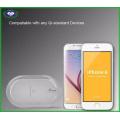 2016 Новое зарядное устройство для 3-х катушек Qi для iPhone и Samsung