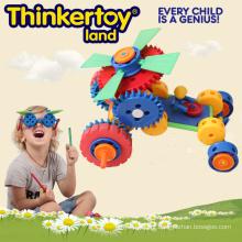 Crianças brinquedos educativos Buiding blocos de plástico