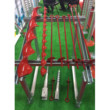 Hot Dip Galvaniserad Earth Auger
