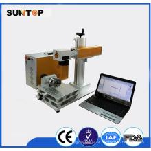 Color Laser Marking Machine / Mopa Fibra Laser Cor Marcação
