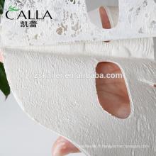 2017 nouvelle feuille de masque facial d'argile de produit pour le nettoyage de visage