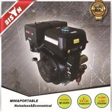 Bison China Zhejiang Надежный бензиновый двигатель Одноцилиндровый электрический стартер 15HP 420CC Бензиновый двигатель для воды Цена