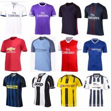 Jersey de fútbol modificado profesionalmente de alta calidad para la Liga de la Copa del mundo hace juego el club europeo de la taza