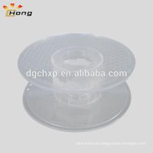 Carrete de plástico transparente de 200 mm para filamento de impresora 3d