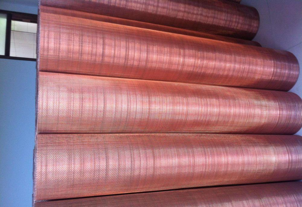 Red Copper Wire Mesh