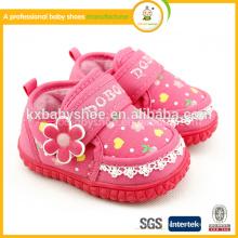 2015 Rushed Time-limited Patch Hook & Loop (липучка) Unisex Tpr Обувь для хлопка Мода Baby Furry Зимние сапоги и обувь