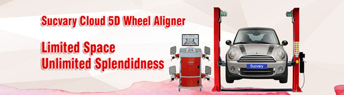 Total wheel alignment machine