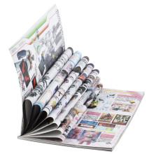 Impression faite sur commande de livre d'impression de magazine de magazine de Wholeslae