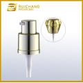 16mm aluminium cream lotion pump with diamond overcap