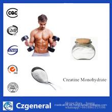 Suplemento nutricional 99% Polvo monohidrato a granel al por mayor de la creatina