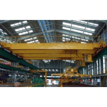Double Girder Electric Overhead Crane With Top-Slewing Magn