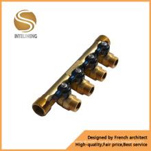 High Quality 4-Way Brass Manifold (TFM-070-04)