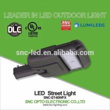 Justierbarer Arm UL DLC bestätigte 60w LED-Bereichs-Licht mit Überspannungsschutz