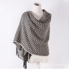 Кашемир женщин как классический проверено вязаная Зимняя печать шаль шарф (SP303)
