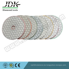 Trockener Diamond Flexibiler Polierpad