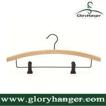 Bamboo Hanger with Trousers Rod/Matel Hook