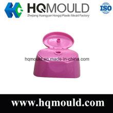 Molde de injeção plástica para tampa Flip de plástico
