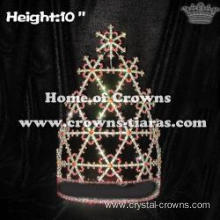 10in Height Wholesale Snowflake Pageant Crowns