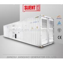 40HC Silent type china brand rainproof jichai diesel generator1 mw,1250kva genset