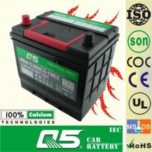 Batería para camión de servicio pesado totalmente sellada y libre de maitenance (JIS-85D23 12V68AH)