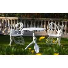 Muebles del Patio al aire libre jardín de Metal de aluminio fundido