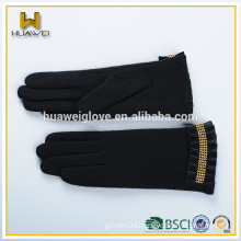 Wholesale girls wool gloves fashion cheap wool gloves