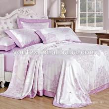 New style printing tencel bedding sheets bedding set