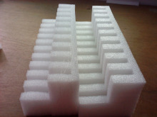 White foam inserts for boxes, epe foam inserts