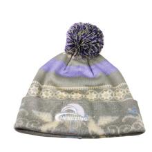 Chapéus populares do beanie com bola superior
