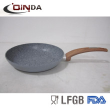 aluminum new design granite ceramic stone fry pan