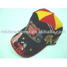 Gorra de béisbol de carnaval de bordado pesado