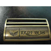 OEM Zinc alloy nameplate