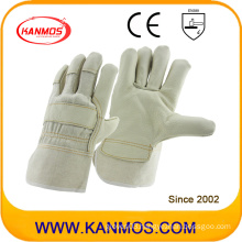 Light Furniture PPE Cowhide Leather Industrial Hand Safety Work Gloves (310051)