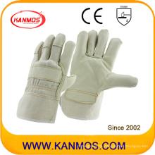 Light Furniture PPE Rindsleder Industrielle Handsicherheit Arbeitshandschuhe (310051)